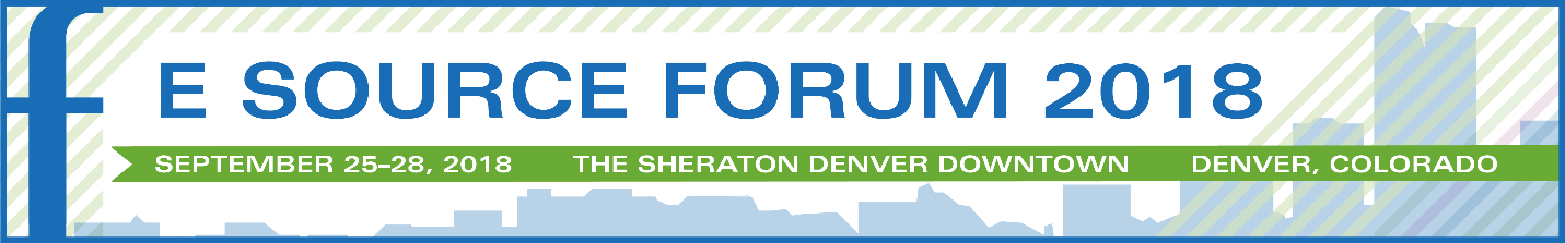 e source forum 2018 logo