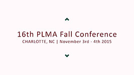 16th PLMA Fall Conference, Charlotte, North Carolina