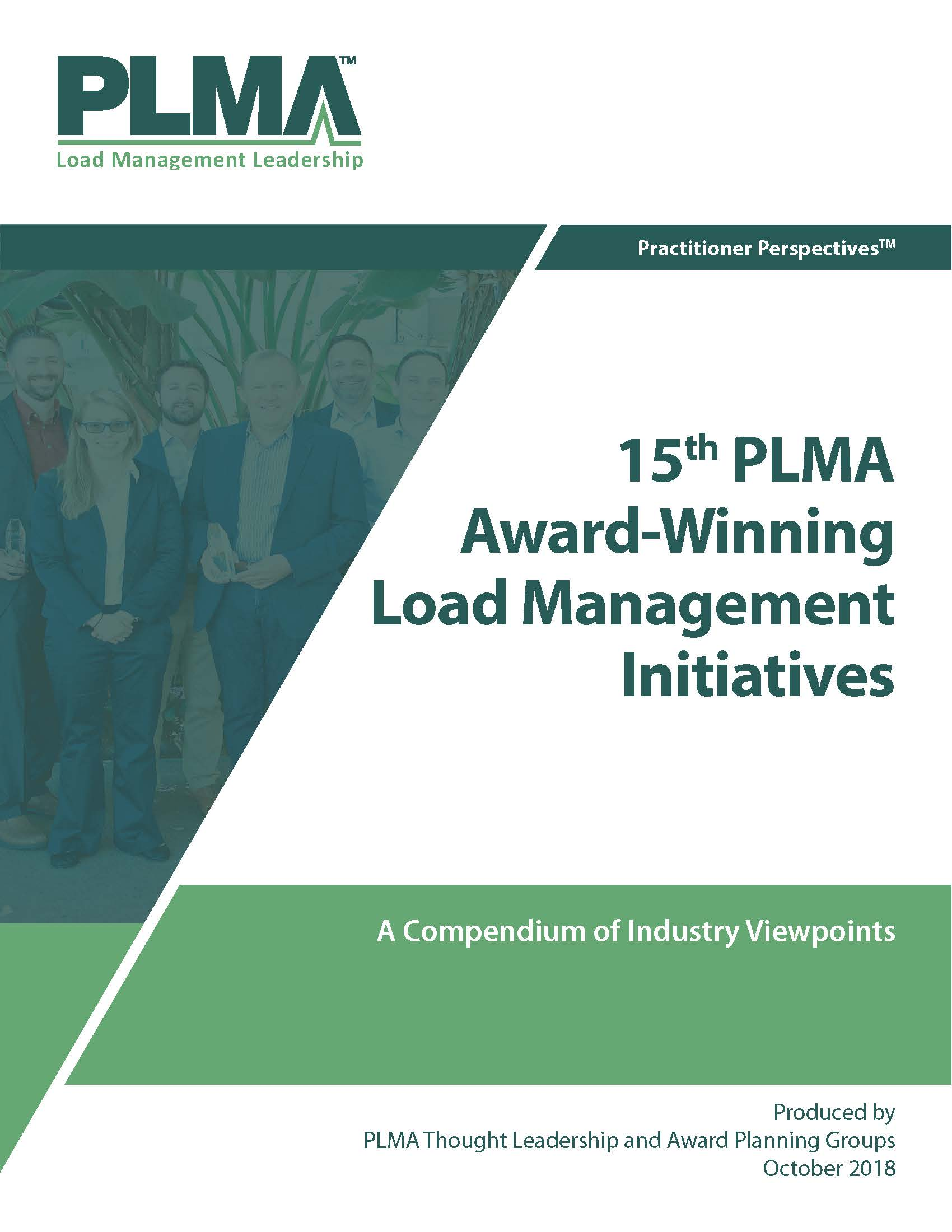 15th PLMA Award-Winning Load Management Initiatives