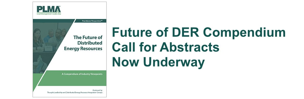 Future of DER Compendium call for abstracts now underway