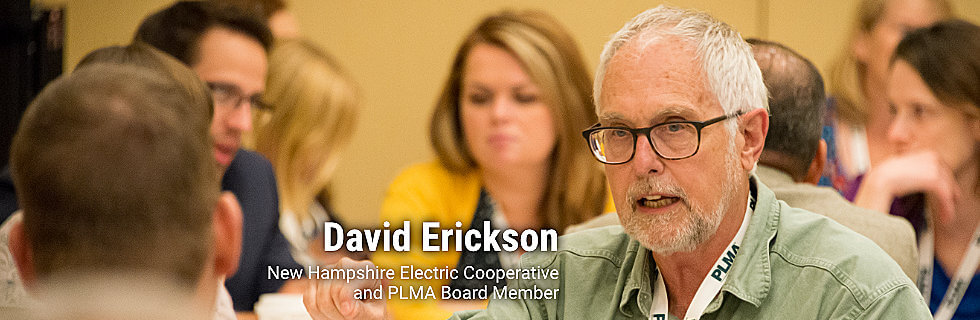 David Erickson, New Hampshire Electric Cooperative and PLMA Board Member