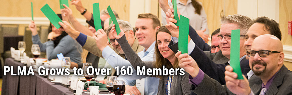 PLMA Grows to Over 150 members