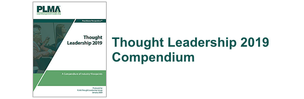 Thought Leadership 2018 Compendium