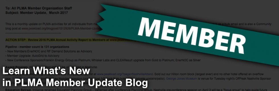 Learn What's New in PLMA Member Update Blog